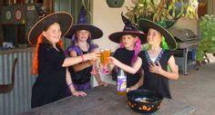 ausmalbild halloween hexe auf ihrem besen kostenlos