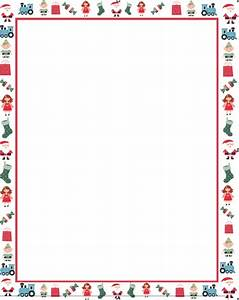 best photos of free christmas letter border templates With letter paper with borders
