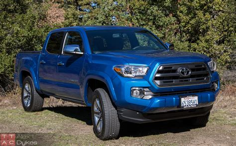 2016 Tacoma Review by 2016 Toyota Tacoma Limited Review Road Taco Truck