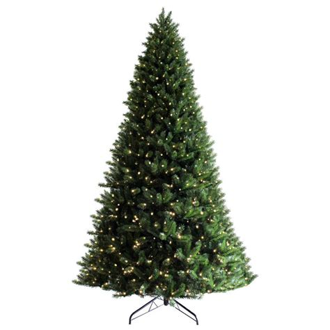 huge 12ft pre lit green artificial pine commercial christmas tree