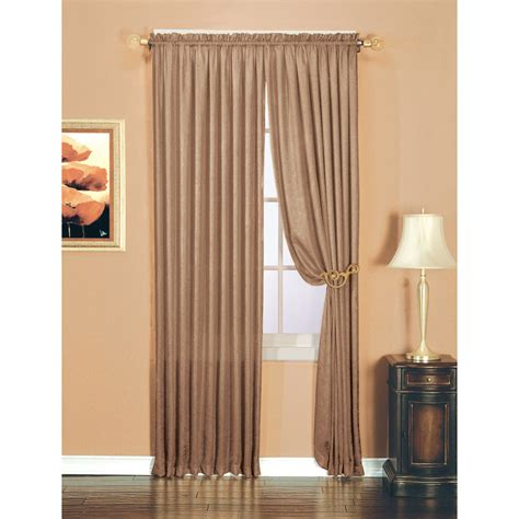 kmart curtains and valances essential home luxury crushed faux silk window panel