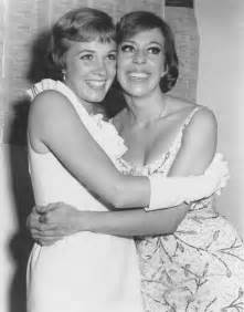 Carol Burnett and Julie Andrews