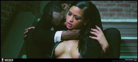 Naked Cassie Ventura In AM Sean John Fragrance Commercial