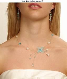 collier mariage pas cher turquoise et ivoire quotexquisequot With collier turquoise mariage