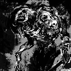 Demon and Skulls by Mr--Jack on DeviantArt