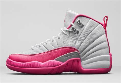 girls air jordan 12 retro vivid pink release date nike com
