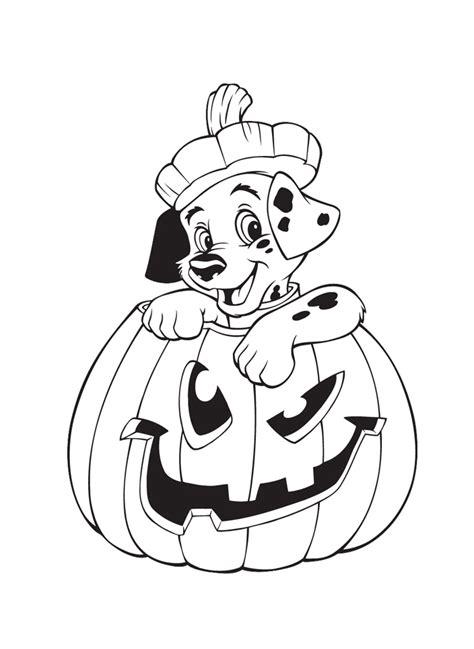 dibujos de halloween disney  colorear  imprimir