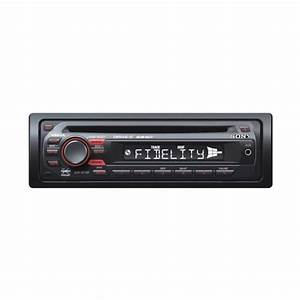 Sony Cdx-gt121 Cd Player  Front Aux Input