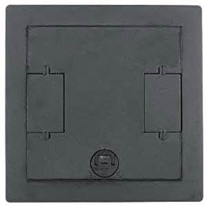 Hubbell Floor Box Covers by Hubbell Wiring Systems Lcfbcgytc Recessed Concrete Floor