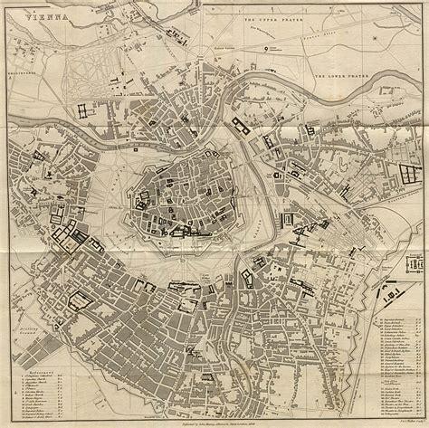 large detailed  map  vienna city  vienna