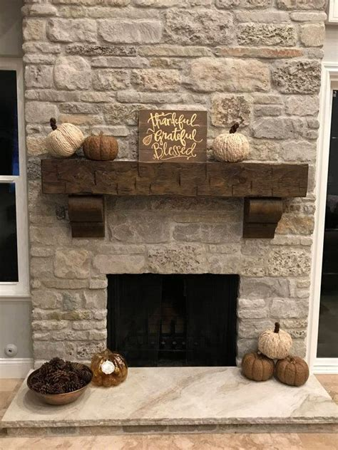 fireplace mantel  chunky  foot long rustic hand hewn