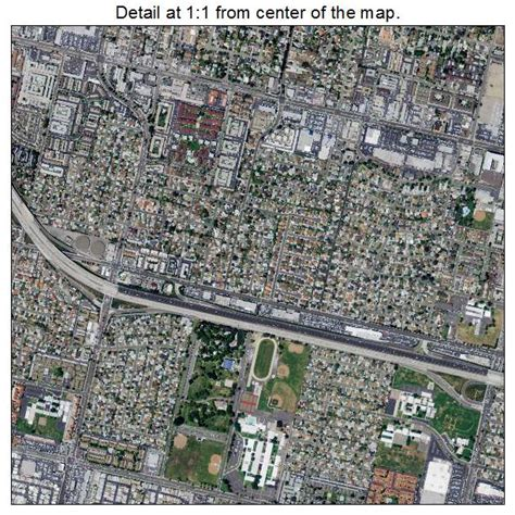 garden grove ca aerial photography map of garden grove ca california
