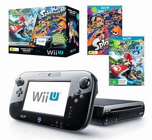 Mario Kart Wii U : nintendo 32gb wii u mario kart 8 splatoon premium pack the gamesmen ~ Maxctalentgroup.com Avis de Voitures