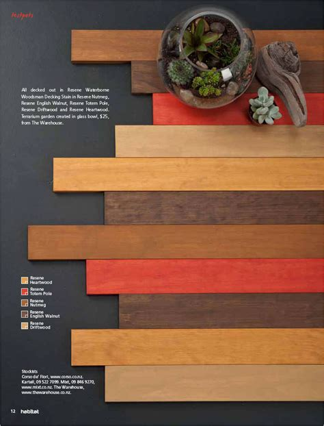 traditional wood stain colours