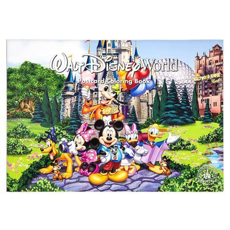 wdw store disney coloring book walt disney world