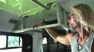 How To Make Rv Cabinets convert bus cabinets youtube