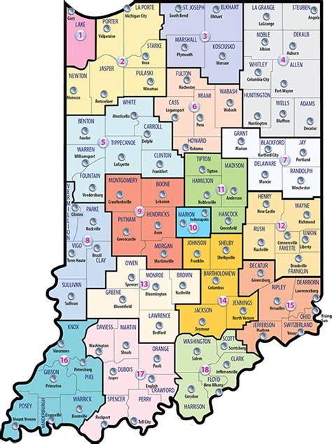 DCS: County List