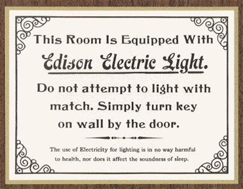 Edison Electric Light Company by The Invention Factory Edison And Innovation Series The