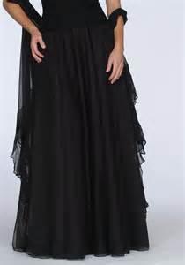informal wedding dress black evening skirt 525