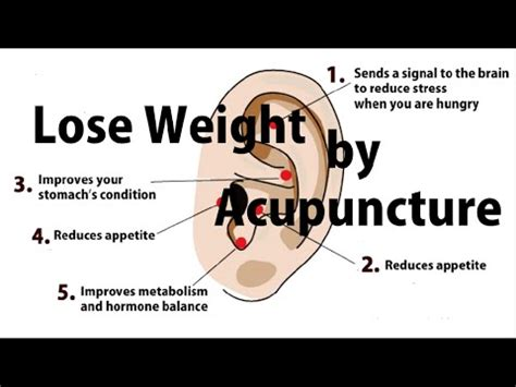 lose weight  acupressure earrings easy simple japanese method  control appetite youtube