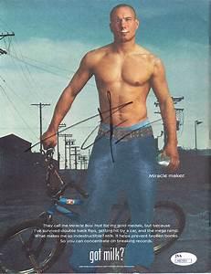 Dave Mirra Autographed Got Milk Magazine Back Cover Bmx
