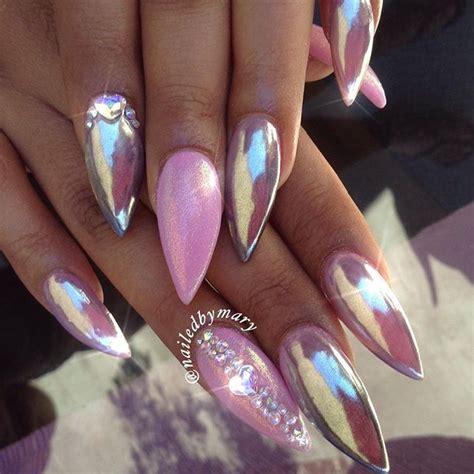 chrome nail designs 21 stunning chrome nail ideas to rock the nail