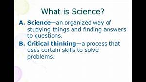 Definition Of Science