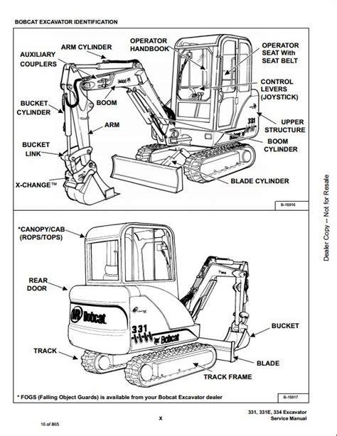 bobcat    mini excavator service repair workshop manual    repair