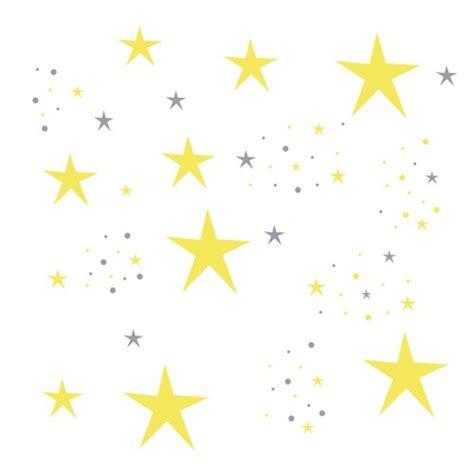 chambre bébé jaune et gris stickers etoiles magiques jaunes et grises lili pouce