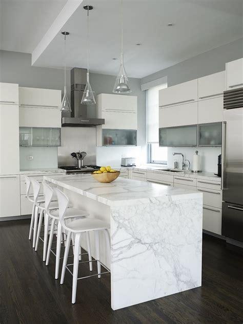 white marble countertops  elegant  noble