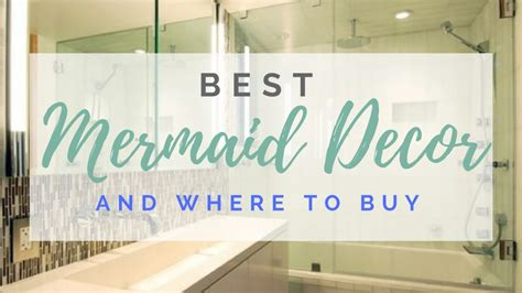 The Mermaid Bedroom Decor by Mermaid Decor For Your Bathoom Bedroom And More