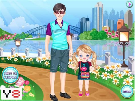FATHER'S DAY MATCHING OUTFITS online game | POMU Games