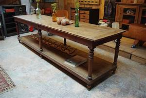 Table De Drapier : ancienne table de drapier d but xx me par le marchand d 39 oublis ~ Teatrodelosmanantiales.com Idées de Décoration