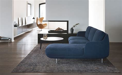 chaise lune lune 3 seat sofa with chaise hivemodern com