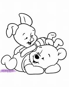 Baby Winnie The Pooh Characters Coloring Pages : Kids ...