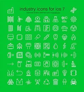 60 Free iOS-Style Industrial Icons (PSD, EPS, PNG & SVG)