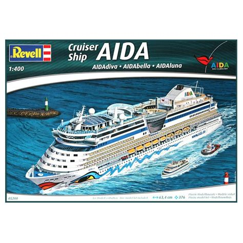 Cruise Ship Aida Model Kit