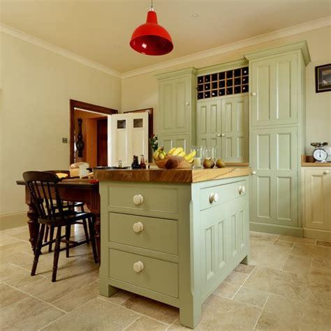 Country Kitchen Painted Island Unit Housetohomecouk