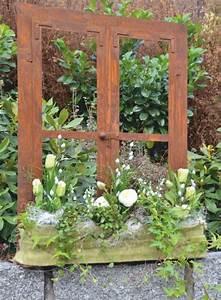 Deko Fenster Für Garten : neuheiten f r die fr hlings deko ideen 2014 edelrost fenster aus rostigem eisen edelrostshop ~ Orissabook.com Haus und Dekorationen