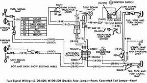 1961 Dodge D100 Wiring Diagram