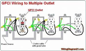 Kitchen Gfci Wiring Diagram