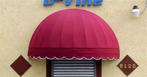 dome awnings ej tropical awnings outlet