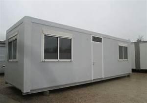 Bungalow D39occasion Reconditionn 8m80 X 2m93 BR Modulaire