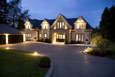 two newly built mansions in cheshire england with indoor
