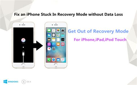 how to get on iphone how to get an iphone into and out of recovery mode