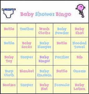 baby shower bingo template new calendar template site With free printable baby shower bingo template