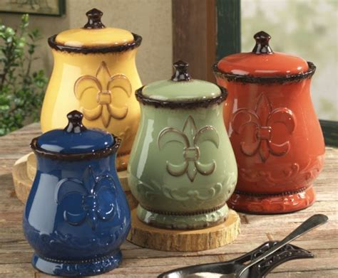 fleur de lis kitchen canisters fleur de lis canisters things i kitchen decor