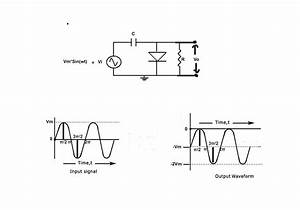 capacitor output of diode clamper circuit for a With above fig 2 a wiring diagram of a for ward and reverse jogging