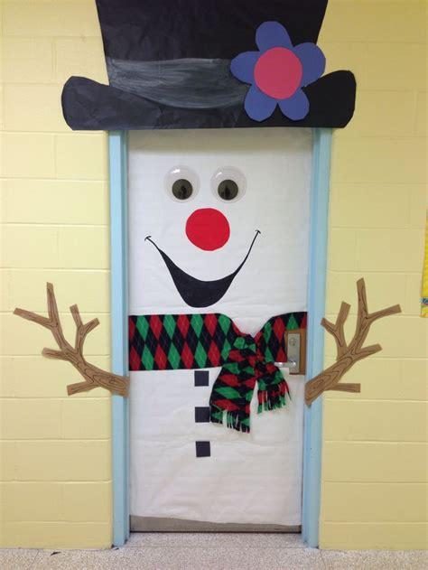 snowman door ideas  pinterest hobby lobby