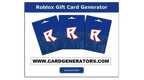 website offers  genuine  working roblox gift card